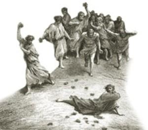 Chi è senza peccato scagli la pietra