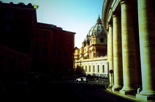 Via Paolo Sesto, Roma.
